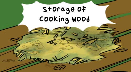 <strong>As Fall approaches think about the storage of cooking wood.</strong>