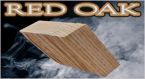 Our Oak Hardwood is a very dense piece of wood for long-lasting wood-fired cooking and smoking