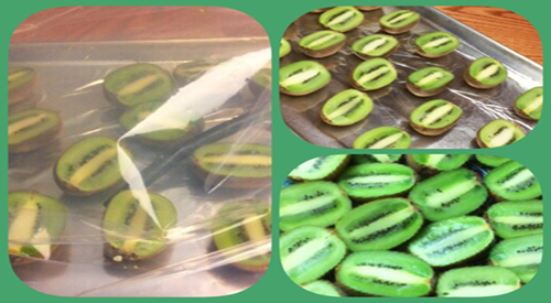 Kiwi gets smoky by adding a new twist to your kiwifruit by cold smoking it to enhance its wonderful sweet flavor.