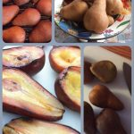 Stove-top Smoked pears