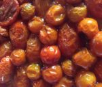 Our deliciously finished roasted tomatoes
