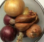 Our onion assortment, White, Sweet and Shallots