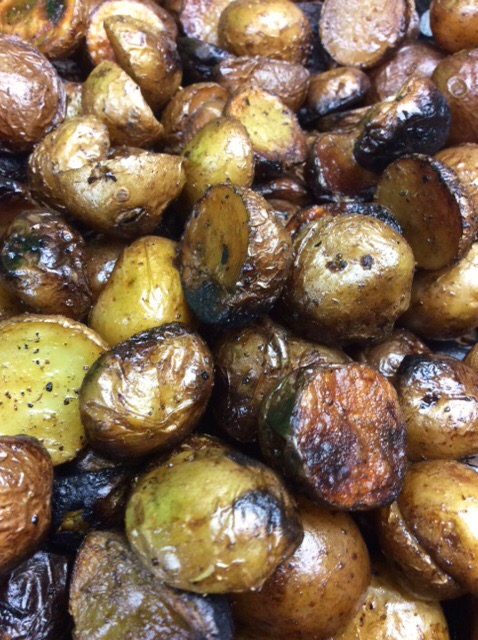 Savory Smoky-Grilled Potatoes