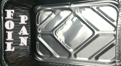 The foil pan is the handiest and, we believe, the indispensable part in all the stages necessary for cooking, functionality and sanitary purposes.