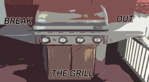 Our Grill drawing for breaking out on your staycation