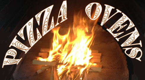 The Wood Burning Pizza Oven with our Ash Wood glowing with great flavor