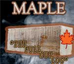 our maple full cut log