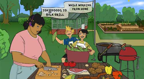 Maria's top 10 foods to bulk grill!