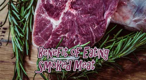 Picture of beef cut with rosemary is a perfect picture for Kylee Harris's guest blog benefits of eating smoked meat