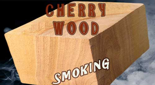 Cherry wood for smoking will bring out the sweetness in anything in the smoker!