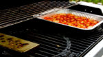 Smoking Tomatoes on the gas grill with the two-zone cooking method