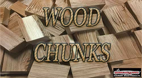 Picture of our prestine double filet wood chunk, no bark and fileted to the correct size with proper moisture control