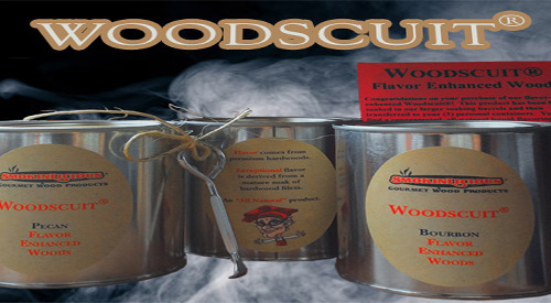 Woodcuits® flavor infused wood is now packaged in Cans