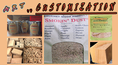 Customizing your experience with our diverse selection of Smokinlicious Smoking Wood Products that Make a Difference with Equipment Efficiency and Taste
