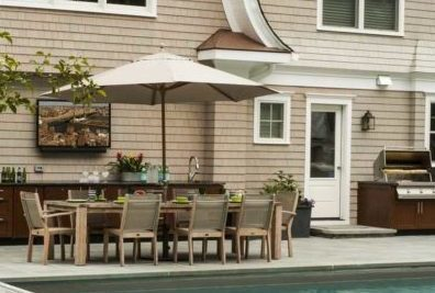 Wonderful article on Outdoor kitchen location tips