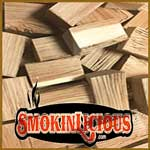 SmokinLicious® Double Filet Wood Chunk in Charcoal-Wood Burning Grills