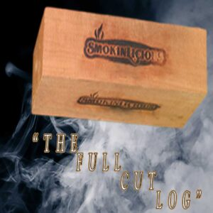 The Smokinlicious® full cut smoker logs especially manufactured and moisture controlled to generate the maximum smoke production!