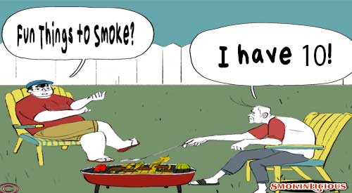 Tom and Chef Burt discuss the Fun Things to Smoke other than Meat!