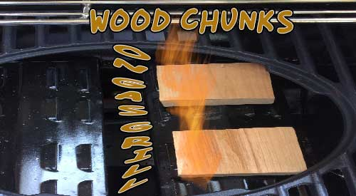 The ways to use wood chunks on gas grill!