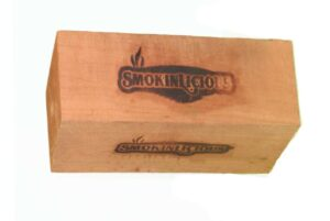 SmokinLicious® Log burns cleaner than Compressed Sawdust