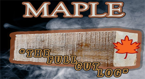 Our Maple is the center cut portion of forest-grown maple trees!