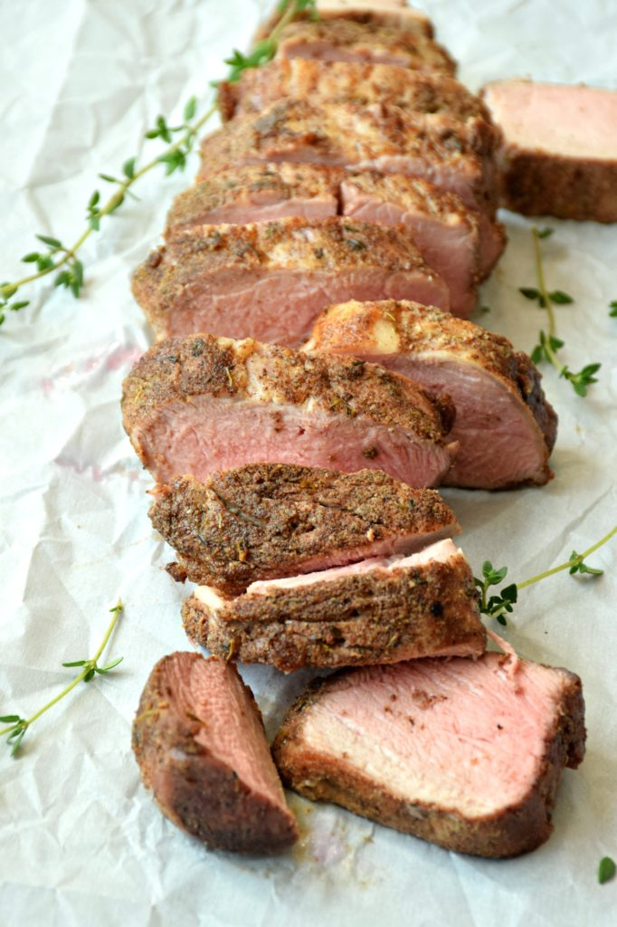 Salt free spice rubs Pork Tenderloin with salt free rub courtesy of Festival Foods
