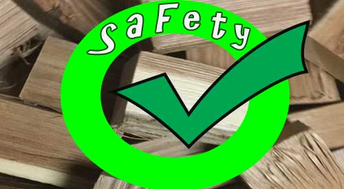 image of wood safety and our 75-75 rule