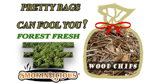 Caution- When selecting wood chips for smoking know the wood source!