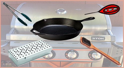 """Smokinlicious® recommends """"must have"""" gas grill tools"""