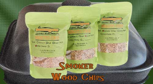 These are the small bags of wood chips for the technique BBQ Grill & Smoker pan, try the 3 pack or a box!