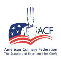 American Culinary Federation logo - Smokinlicious culinary representatives have lectured on Smoking at the local, regional and National Meetings