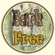 All our products are produced from the center cut of the tree and are bark free