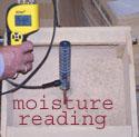 moisture reading-dust
